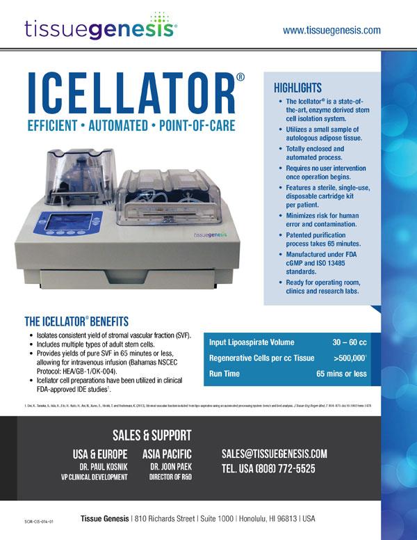 Icellator® Brochure
