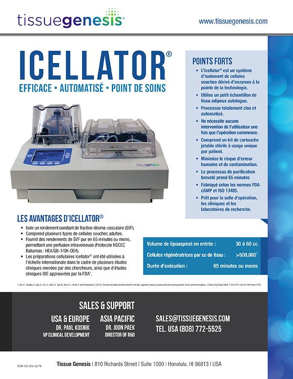 Icellator® Brochure (Français)